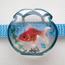 金魚鉢 帯留め 3
