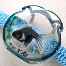金魚鉢 帯留め 4