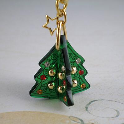 クリスマスツリー根付アラベスク