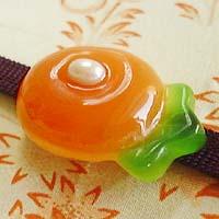 万寿菊帯留(橙)