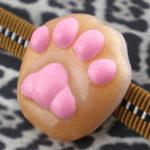 肉球帯留 茶猫