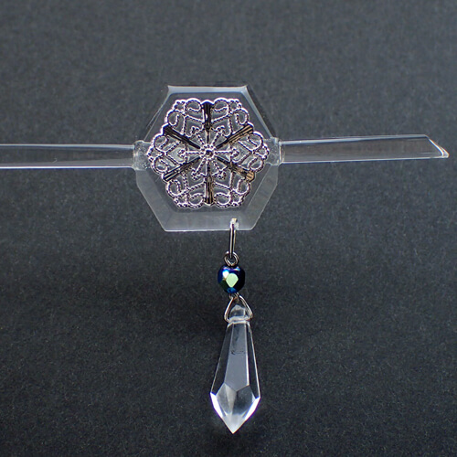 簪(雪の結晶) 結晶部分
