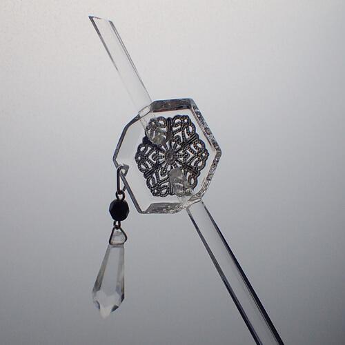 簪(雪の結晶)