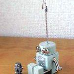 ロボロボ・カードスタンド【ライトグリーン】ロボットのカードスタンド