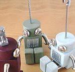 ロボロボ・カードスタンド ロボットのカードスタンド 各色
