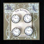 オリジナル釦 時計 セット