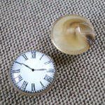 オリジナル釦 時計