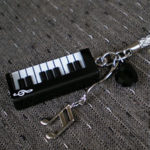 ピアノ根付 ピアノ部分