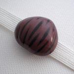 マロングラッセの帯留め 色違い 試作品