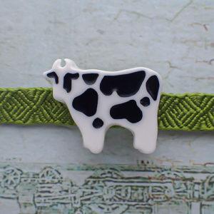 乳牛の帯留め 正面